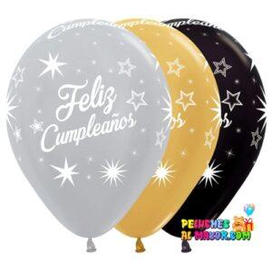 R12. Feliz cumpleaños Deluxe x12