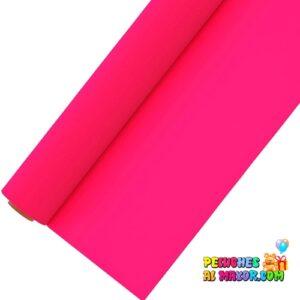 Papel Zepellin Seda rosa neon