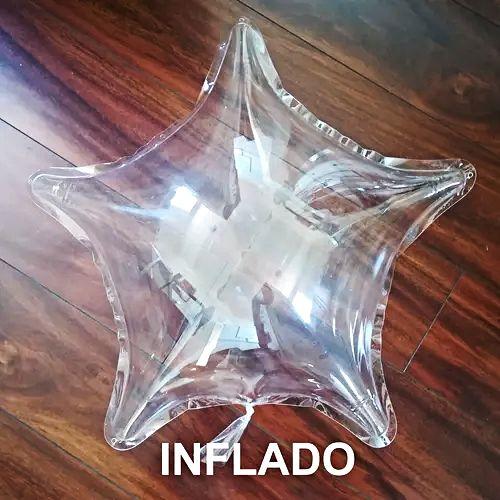 "Burbuja 18"" Estrella Transparente"