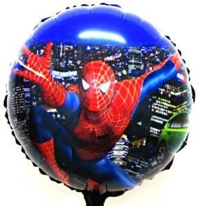 "18"" Spiderman Azul foil metalizado"