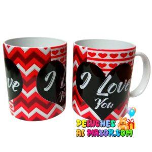 Taza Amor ILY Decorado