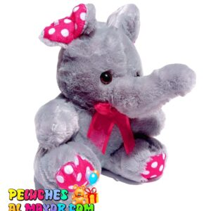 Peluche Pequeño Elefante Gris