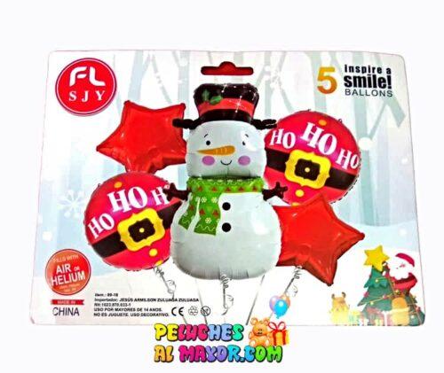 Set Jumbo Feliz Navidad Muñeco de Nieve