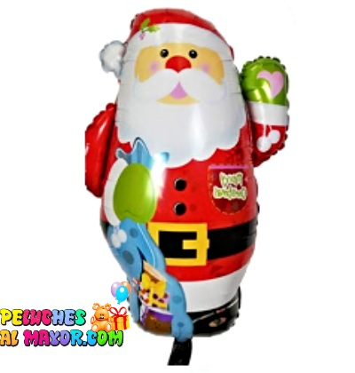 """28"""" Santa con Regalos Feliz Navidad"""