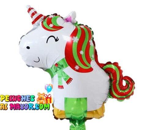 """14"""" Unicornio feliz Navidad"""