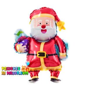 """14"""" Santa de Pie Regalos 14"""" Oso feliz navidad feliz año globo foil metalizado"""