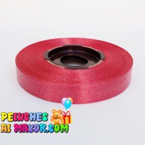 Cinta de Regalo 15mm x50m. Satín Rojo