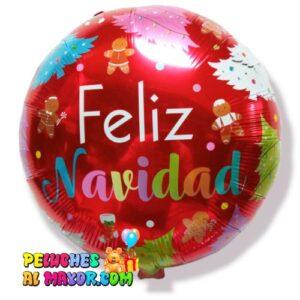 """18"""" Navidad Rojo Pinos Colores"""