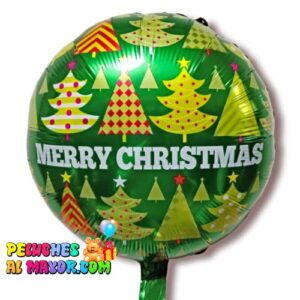 """18"""" Navidad Verde Pinos árbol de navidad foil metalizado"""
