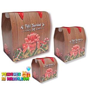 Caja Cofre Navidad Regalo x3und